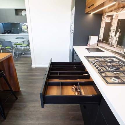 Kitchen drawer options