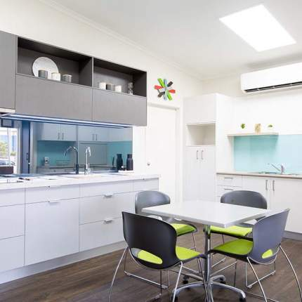 Clean and modern kitchen